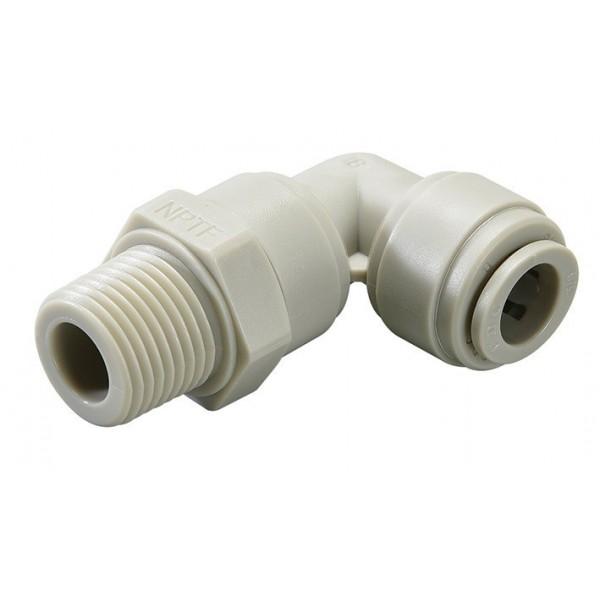 Vinkelkopplingar - HRPL-I - FluidFit HRPL Male swivel elbow NPTF (inch)