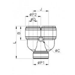 U-koppling - HBU-I - FluidFit HBU U-koppling (tum)