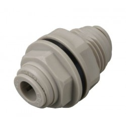 Bulkheads - HMM-I - FluidFit HMM Bulkhead connector with gasket (inch)