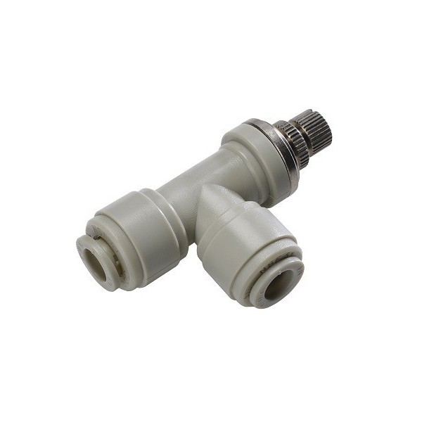 Valves - HSLU-I - FluidFit HSLU Elbow flow regulator (inch)